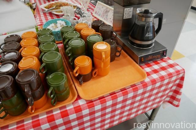 高梁教習所食堂14 食後のコーヒー