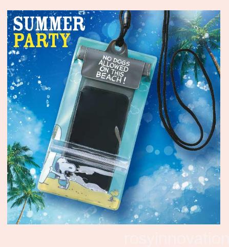 USJ夏暑さ対策グッズ2019 (27)防水ケーススヌーピー