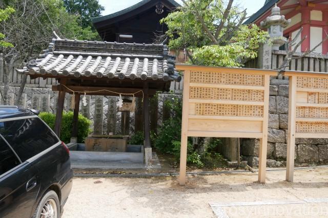 鴻八幡宮 (1)駐車場