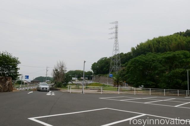 道通神社 (1)駐車場