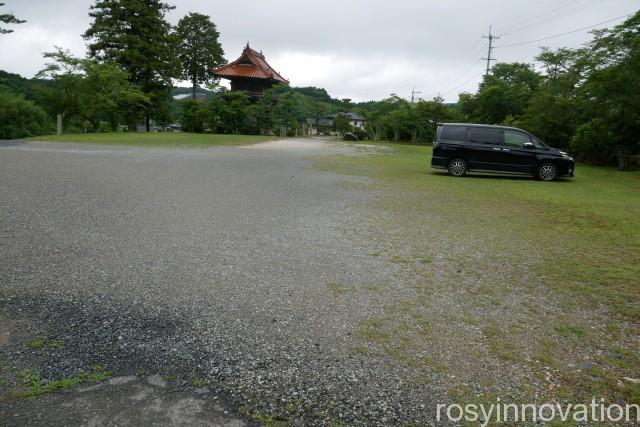 妙本寺 (1)駐車場