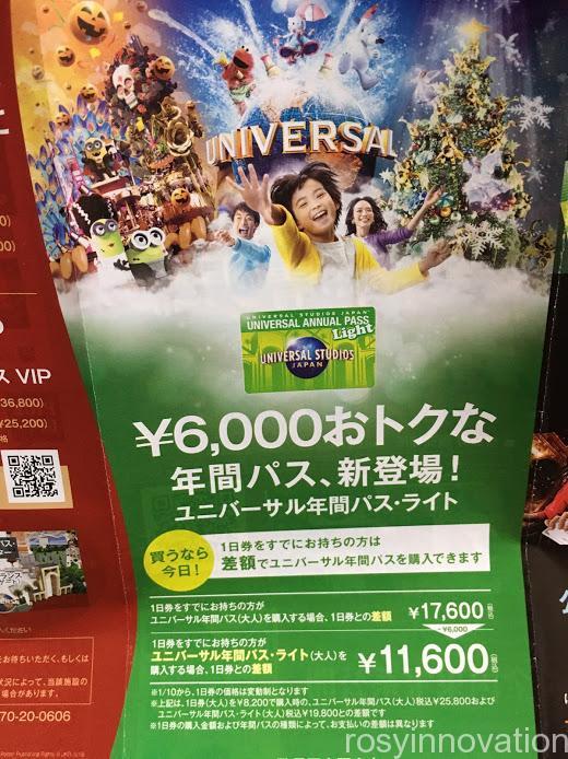 USJ年パス 安く買う (1)