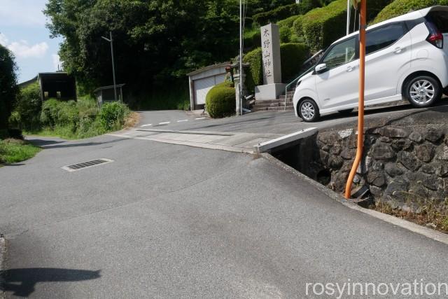 木野山神社 (8)駐車場