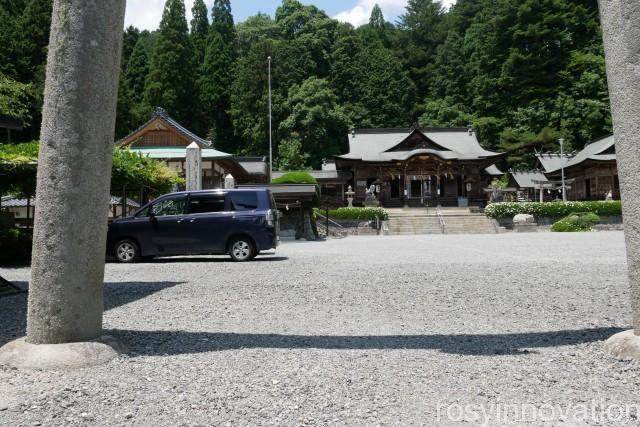 木山神社 (28)駐車場