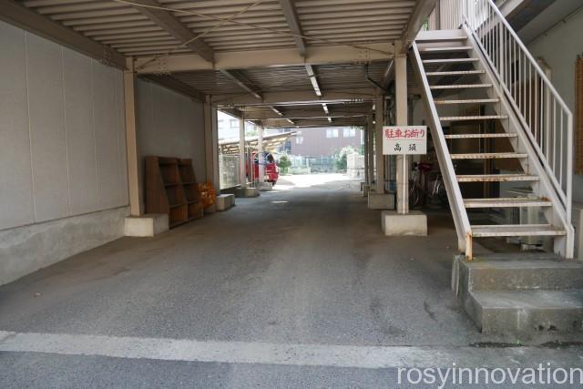 石門別神社 (3)駐車場