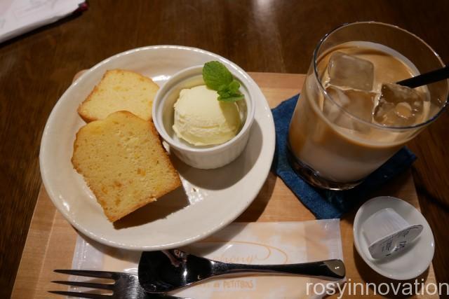 にしくらカフェ 真庭 (8)パウンドケーキ