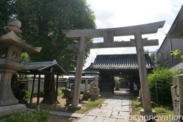 石門別神社 (1)場所