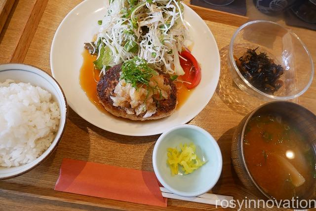 キッチンほりぐち (14)ハンバーグ定食