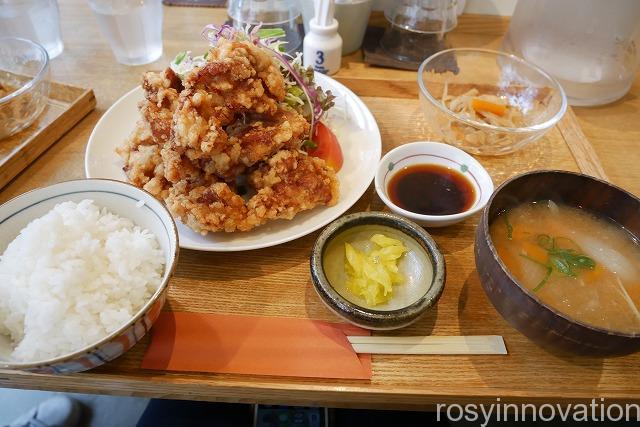 キッチンほりぐち2020年7月 (1)唐揚げ定食