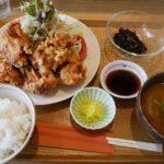 【岡山グルメ】キッチンほりぐち☆県庁近くの洋食屋で大盛り唐揚げ定食