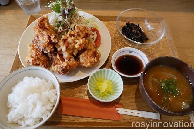 キッチンほりぐち (11)唐揚げ定食