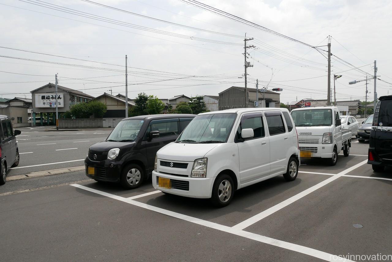 なか浦うどん (2)駐車場