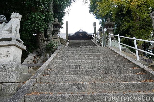 児島総社 (6)階段