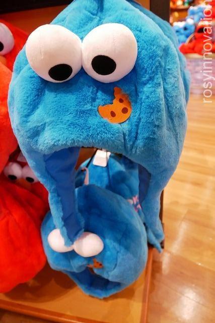 12 USJ防寒グッズ20192020 クッキーモンスター ぬいぐるみハット
