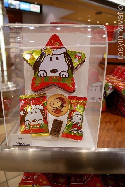 USJ クリスマスグッズ2019 THE CHRISTMASグッズ (16)スヌーピーチョコ缶