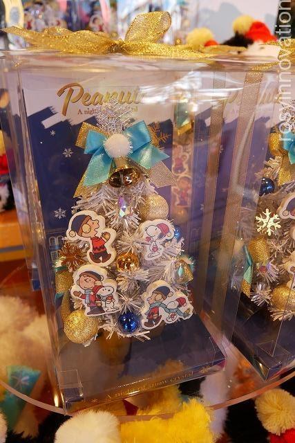 スヌーピーのクリスマスグッズSnow Crystal (11)ツリー