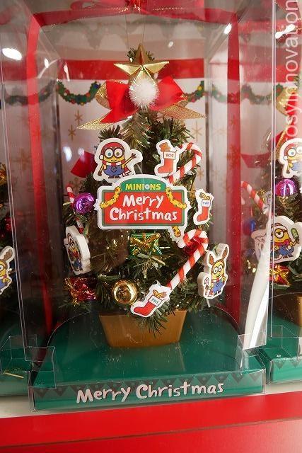 ミニオンのクリスマスグッズUSJ (27)ツリー