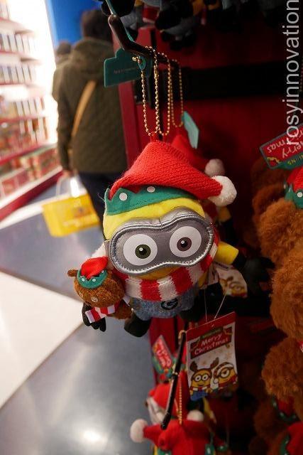 ミニオンのクリスマスグッズUSJ (3)ボブのぬいぐるみ
