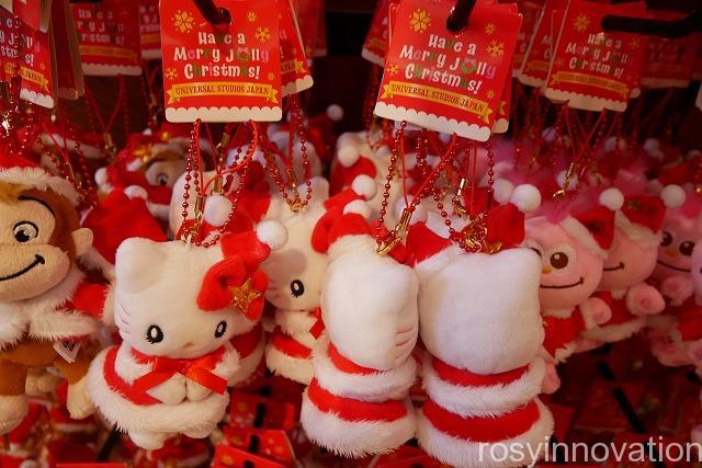 USJ クリスマスグッズ2019 THE CHRISTMASグッズ (11)キティマスコット