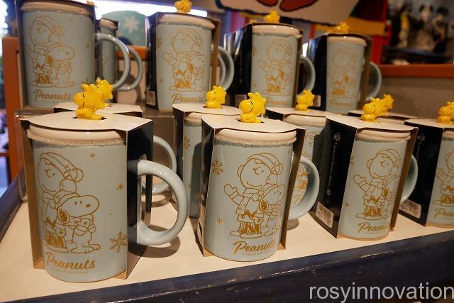 スヌーピーのクリスマスグッズSnow Crystal (16)マグカップ