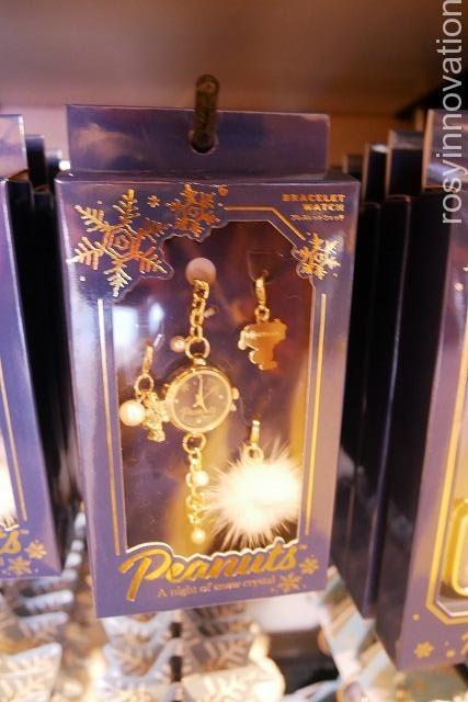 スヌーピーのクリスマスグッズSnow Crystal (32)時計
