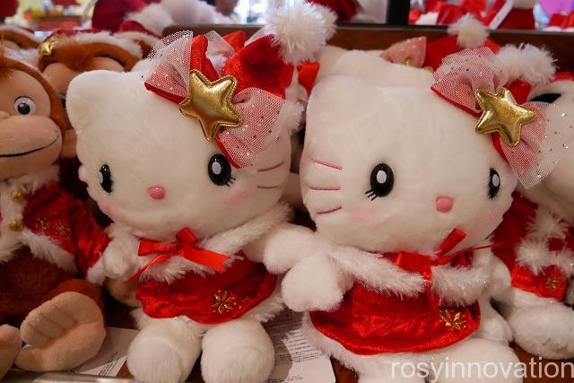 USJ クリスマスグッズ2019 THE CHRISTMASグッズ (7)キティちゃんのぬいぐるみ