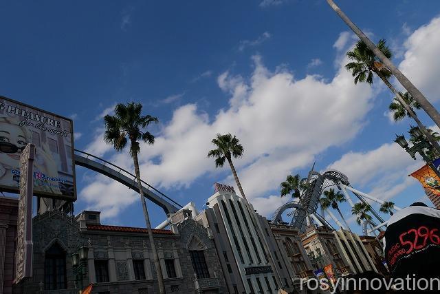 USJ 回り方 風景 USJ風景 ハリウッド大通り