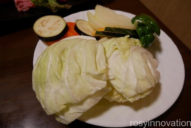 焼肉千屋牛 (15)野菜