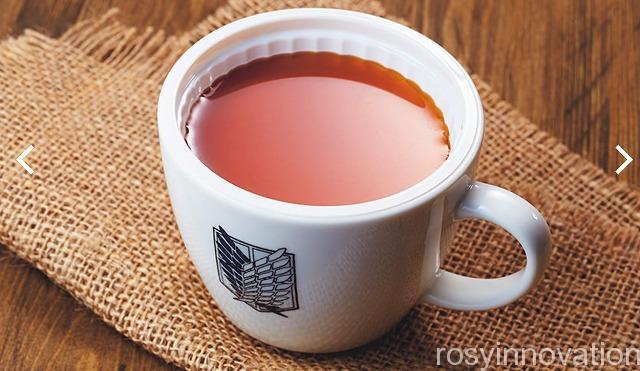 進撃の巨人調査兵団の食堂 (7)紅茶