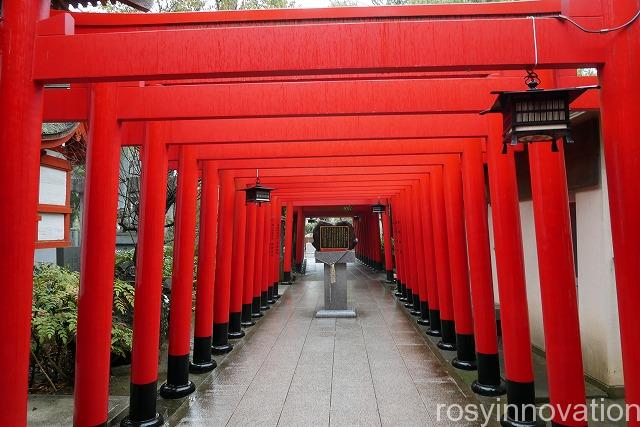 田村神社 (14朱色の鳥居