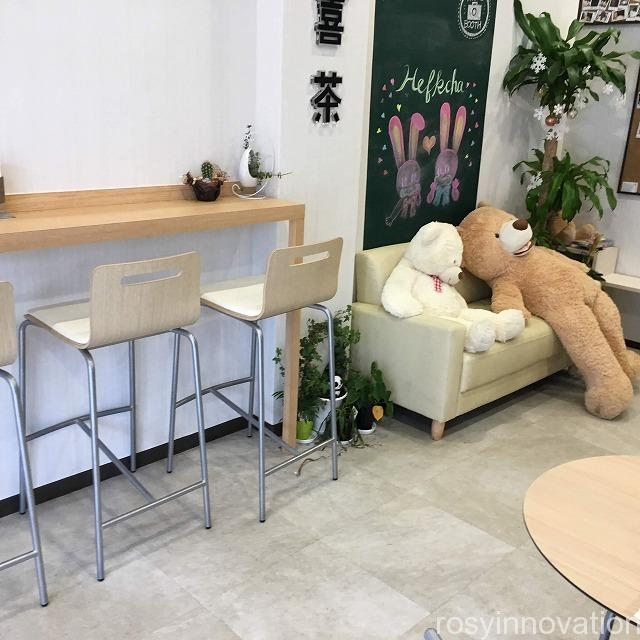 HEFKCHA 宣喜茶(センキチャ)岡山店 (2)店内