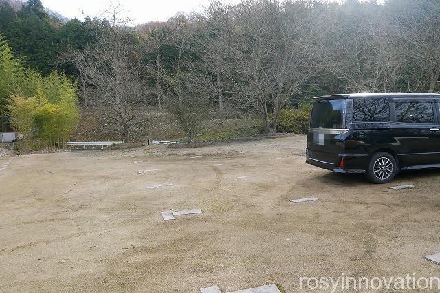 圀勝寺 (1)駐車場