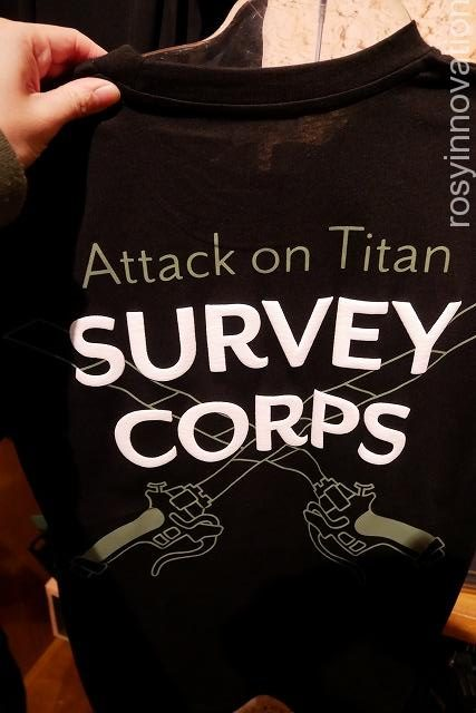 Tシャツ(SURVEY CORPS)☆進撃の巨人グッズ2020完全版 (63)