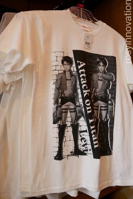 Tシャツ(エレン&リヴァイ)進撃の巨人グッズ2020完全版 (17)
