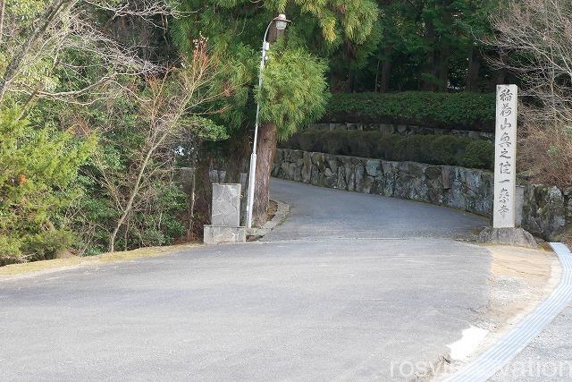 最上稲荷奥の院 御朱印 (1)場所