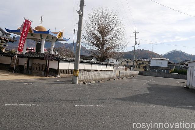 多聞寺 (2)駐車場