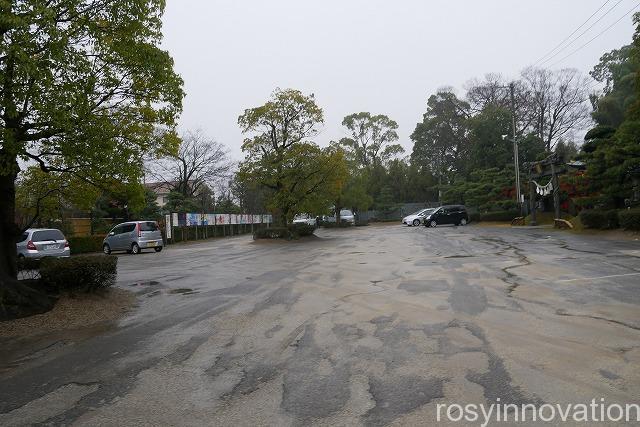 田村神社 (2)駐車場