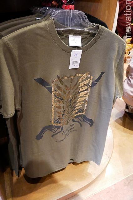 Tシャツ自由の翼 USJ進撃の巨人グッズ2020完全版 (18)