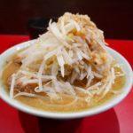【岡山グルメ】ラーメンきずな☆二郎系ラーメンで野菜増し+麺半分=完食お腹いっぱい