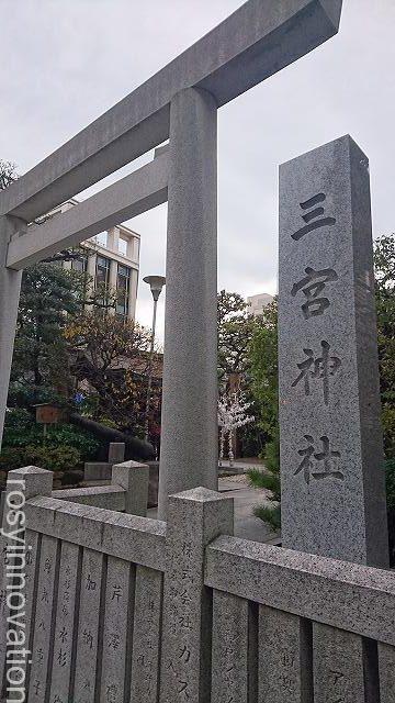 三宮神社 神戸 (1)場所