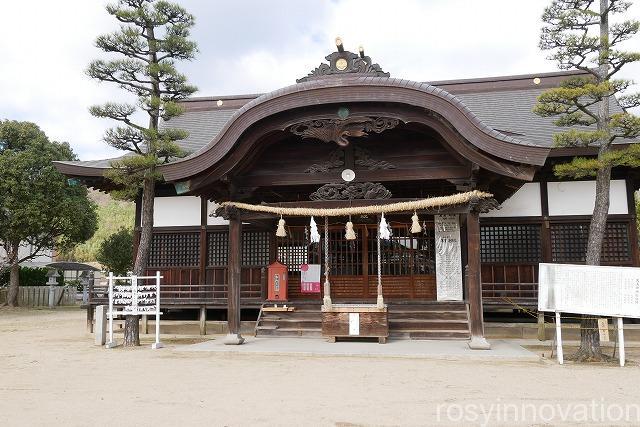 大浦神社 (9)拝殿