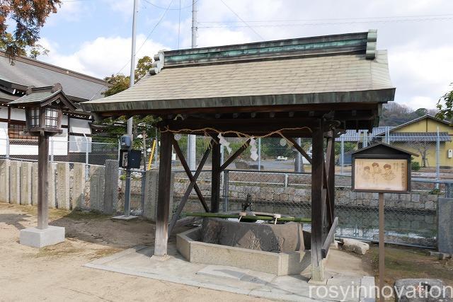 大浦神社 (8)手水舎