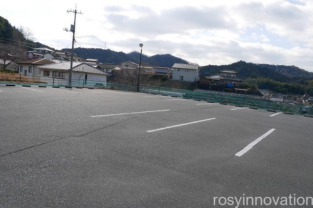 三部山不動院 (1)駐車場
