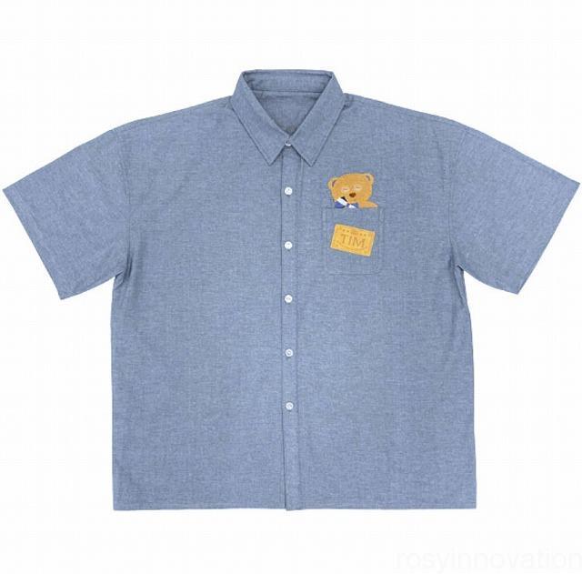 2020年春夏ティムグッズ (8)ボタンシャツ