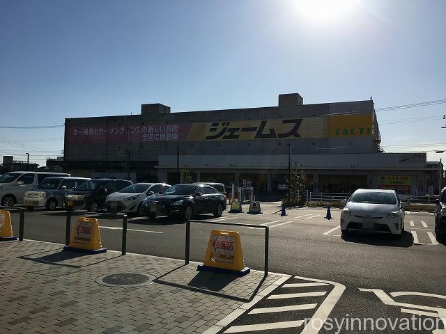 北長瀬ブランチのタピオカ 茶千樹 (2)駐車場