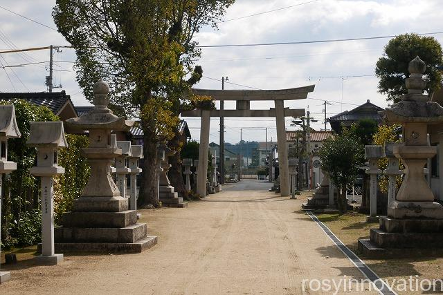 大浦神社 (7)鳥居