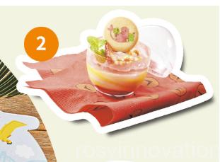 USJ×ドラえもんフードレストラン (2)デザート