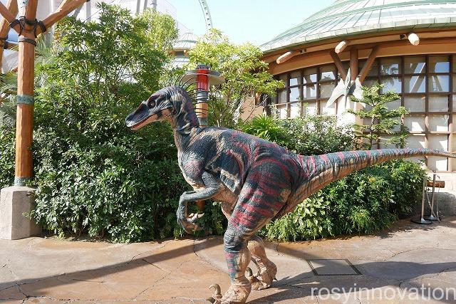 ひとりUSJ ぼっちユニバ (7)ショー 恐竜 ジュラシックパーク