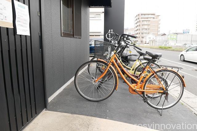 二代目麺処くるり (2)自転車