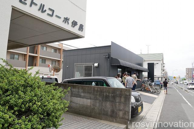醤油二代目麺処くるり (2)東駐車場